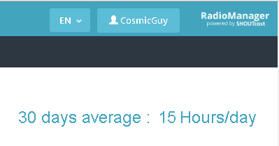 This statistic is valid as of March 31, 2018 - I am evolving my 24/7 stream to include variety programming that still adheres to the