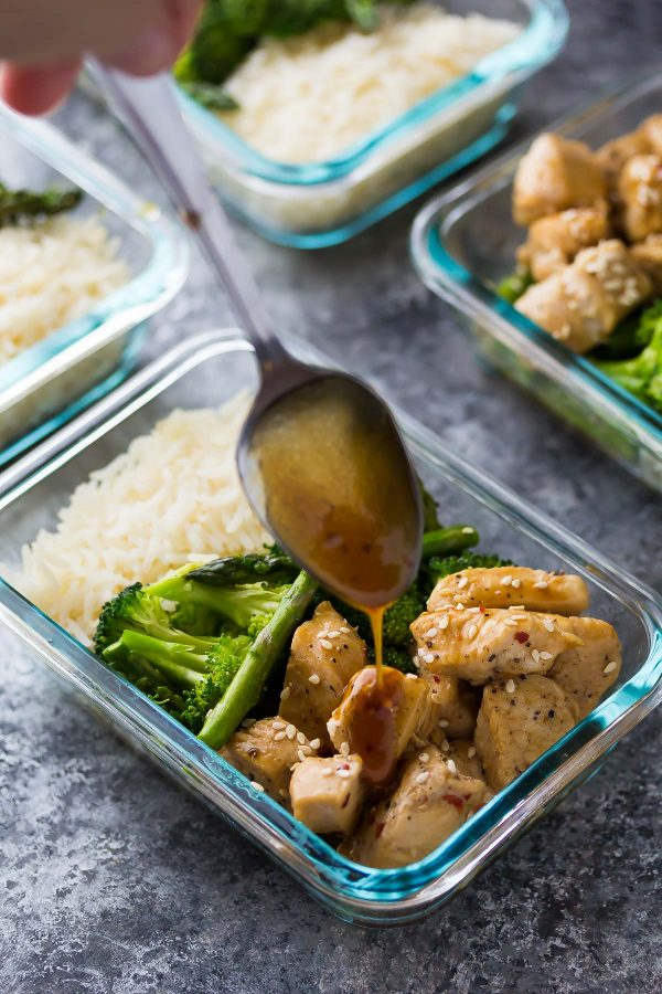 Honey Sesame Chicken Lunch Bowl Authentic Soul Coaching
