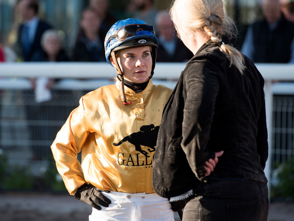 Danielle Johnson from New Zealand was sponsored by Gallop Magazine in the Lady Jockeys' Thoroughbred World Championship.