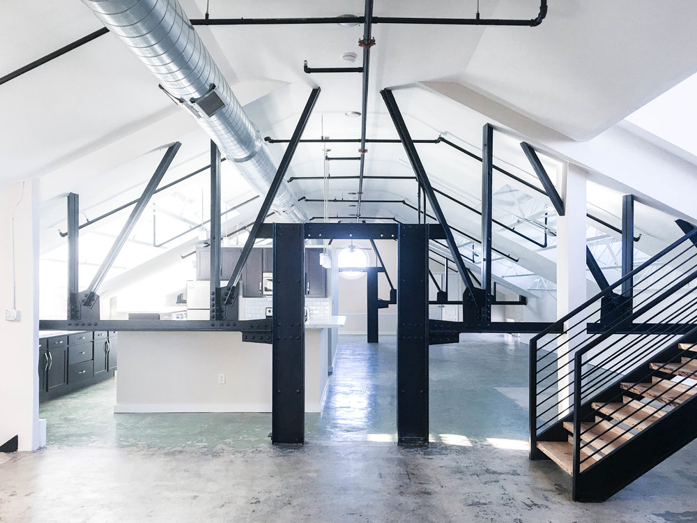 INDUSTRIAL LOFT ENTRY.JPG