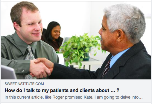 How Do I Talk To My Patients And Clients About