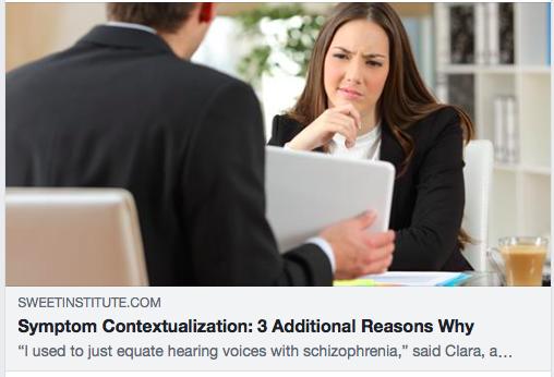 Symptom Contextualization: 3 Additional Reasons Why
