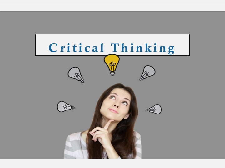 SWEET Institute Critical Thinking