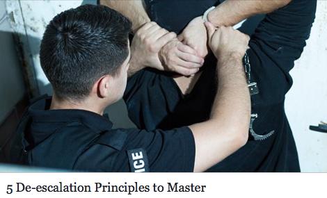 5 De-escalation Principles to Master