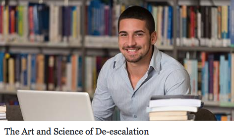 The Art and Science of De-escalation