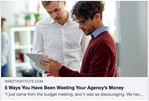 5 Ways You Have Been Wasting Your Agency's Money