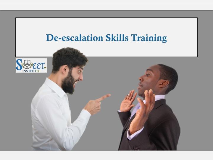 SWEET Institute De-escalation Skills Training