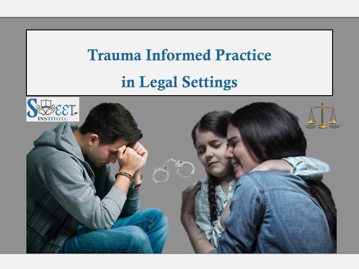 SWEET Institute Trauma Informed Practice in Legal Settings
