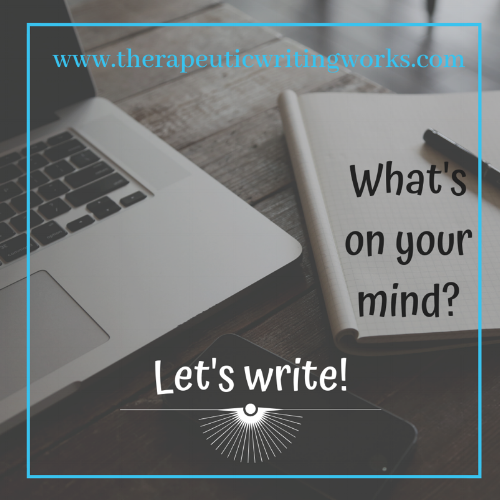 - Join us as our SWEET Member- Carrie Miceli, LMSW offers her next workshop:Therapeutic Writing Works!Date: Tuesday December 4, 2018Time: 6:30-8:30 pmWould you like to learn how to use writing to encourage emotional balance while becoming the author of your own life?In this introductory workshop, you will learn and practice new writing techniques for personal and professional growth. These tools can help in building resiliency to prevent burnout, promoting psychological healing, creating stress relief, facilitating problem solving, and growing from past trauma.