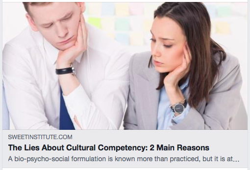 The Lies About Cultural Competency: 2 Main Reasons