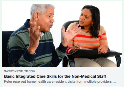 Basic Integrated Care Skills for the Non-Medical Staff