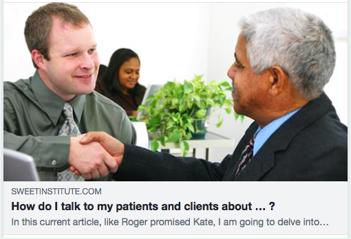 How do I talk to my patients and clients about … ?