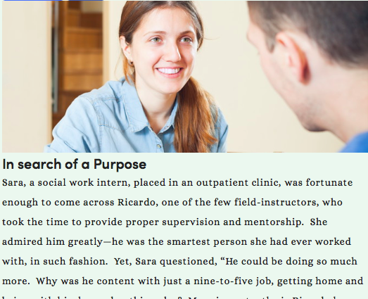 In search of a Purpose