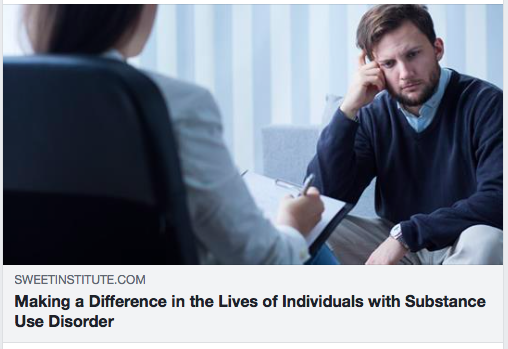 Making a Difference in the Lives of Individuals with Substance Use Disorder