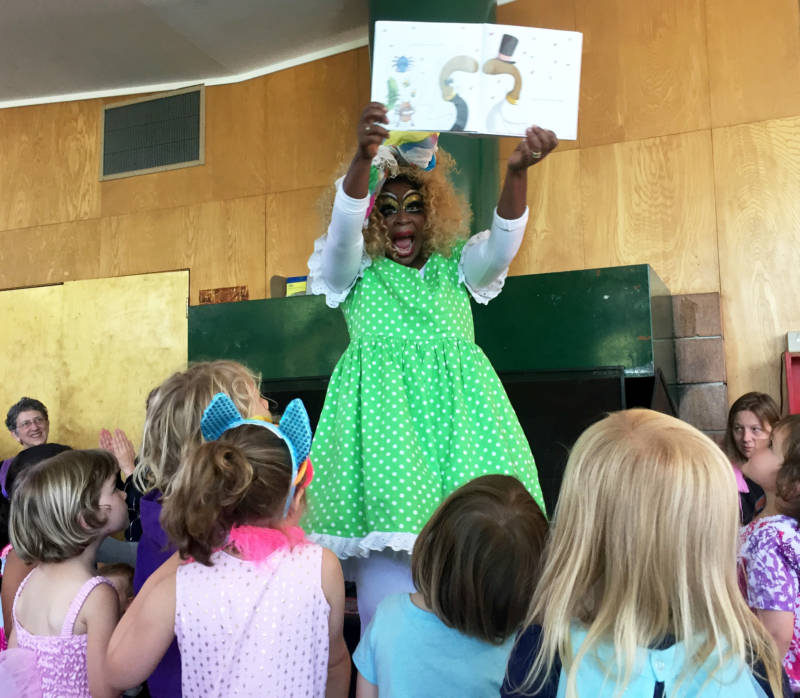 Drag Queen Story Hour Engages Kids With Reading, Gender Creativity -