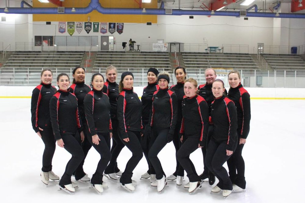 On This Ice Skating Team There are No Olympians...and No One Under 25 -