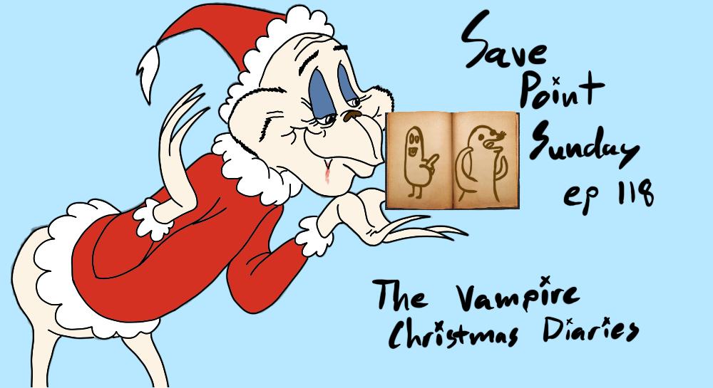 Episode 118: The Vampire Christmas Diaries