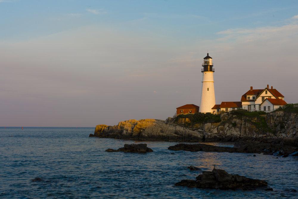 Portland Head Light. Portland, Maine.