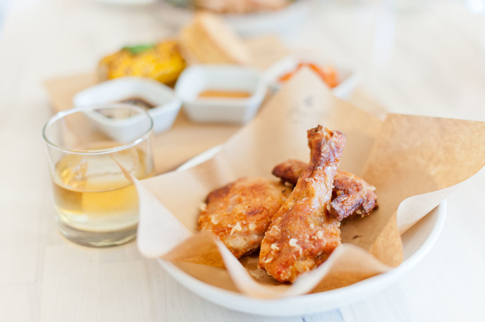 Fried Chicken and Whiskey Wednesday at Peached Tortilla