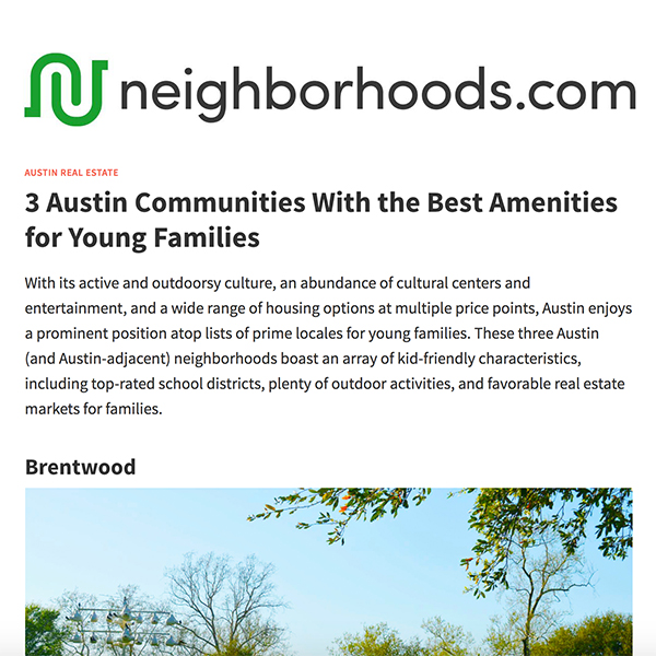neighborhoods.com 3/2018