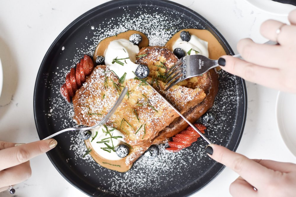 The Peached Tortilla Brunch French Toast
