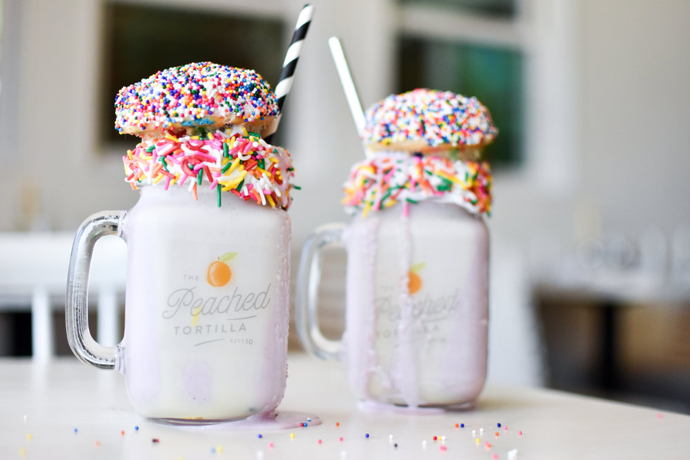 The Peached Tortilla Sunday Milkshakes