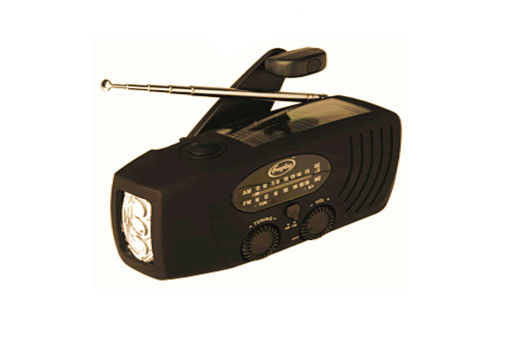 COMPANION RADIO FLASHLIGHT