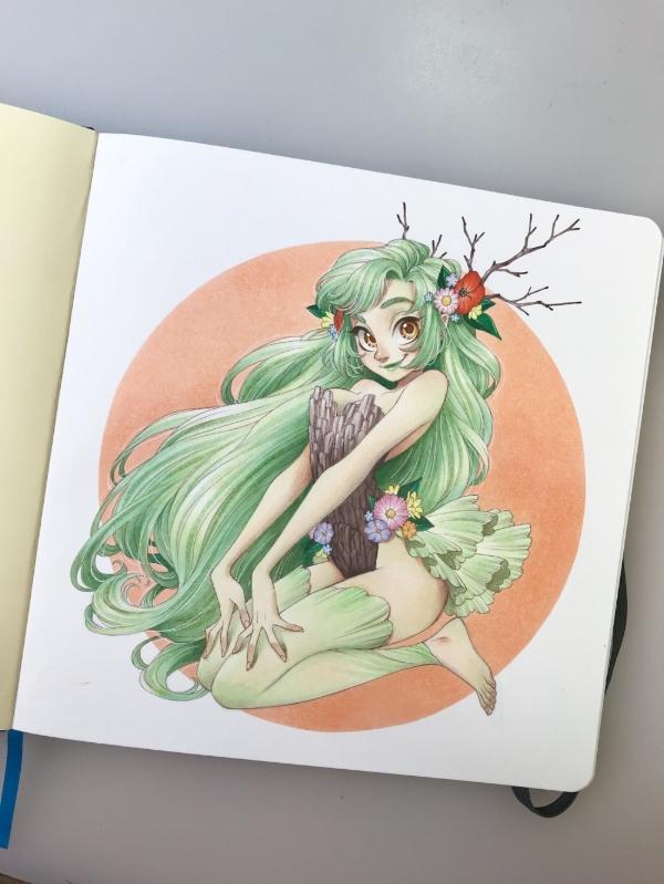 - Manga artist/illustrator/character designer