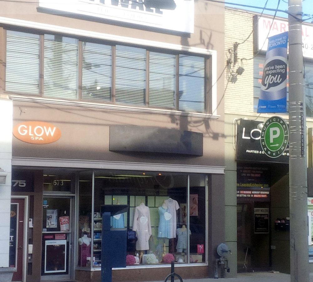 Paul Slavens Commercial Real Estate Toronto 1675 Bayview Avenue Store Front.jpg