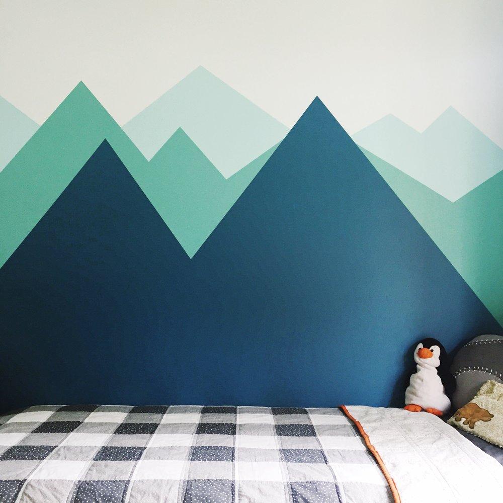 mountain wall mural painted DIY.jpg