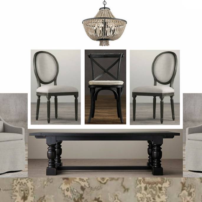 Dining Room E-Design