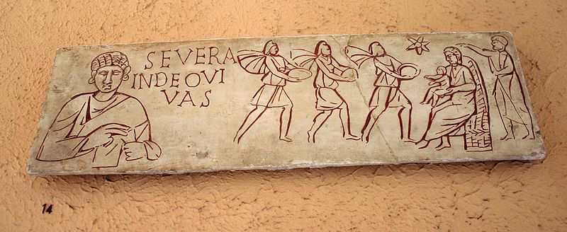https://commons.wikimedia.org/wiki/File:XV14_-_Roma,_Museo_civilt%C3%A0_romana_-_Adorazione_dei_Magi_-_sec_III_dC_-_Foto_Giovanni_Dall%27Orto_12-Apr-2008.jpg