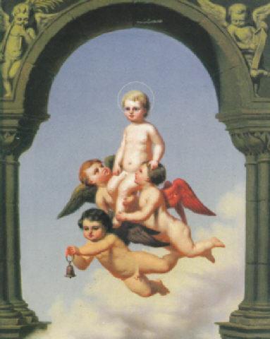 https://commons.wikimedia.org/wiki/File:Ernst_Ewald_-_Unter_einem_Torbogen_wird_das_Jesuskind_von_gefl%C3%BCgelten_Engeln_getragen.jpg