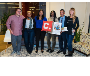 NOV 2016   Featured Speaker at  Change.org Clemency Discussion    (L-to-R John Perri, Sharonda Jones, Brittany K. Barnett, Ebony Underwood, Jason Hernandez, Amy Povah)