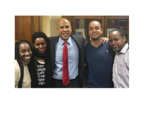 NOV 2016   Underwood Siblings meet with U.S. Senator Corey Booker