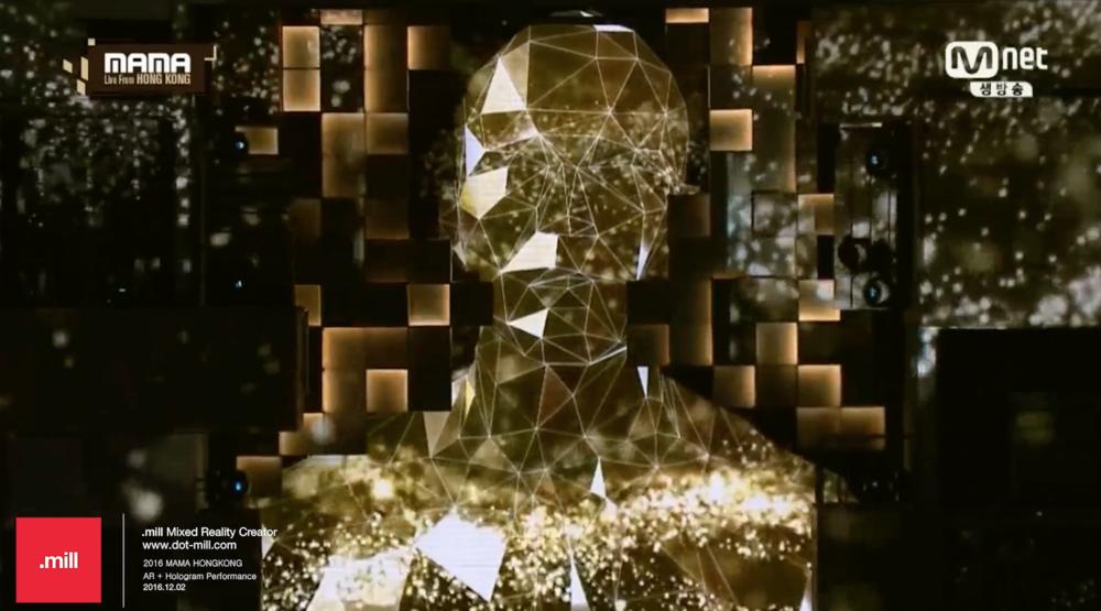 2016 MAMA - In Hong Kong - Motion Graphics + Hologram