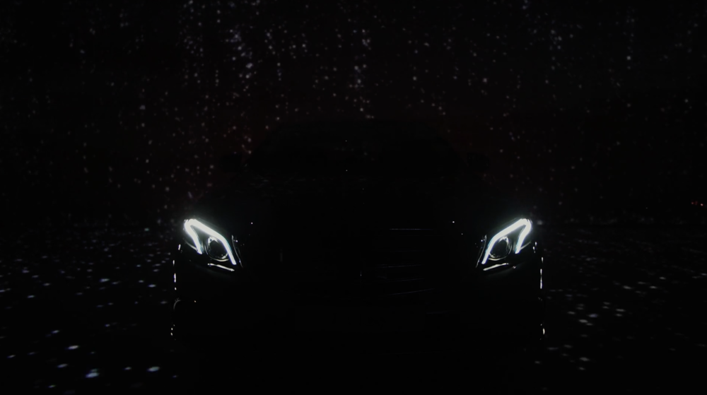 Mercedes Benz - E-class Launching Show - Design + Motion Graphics