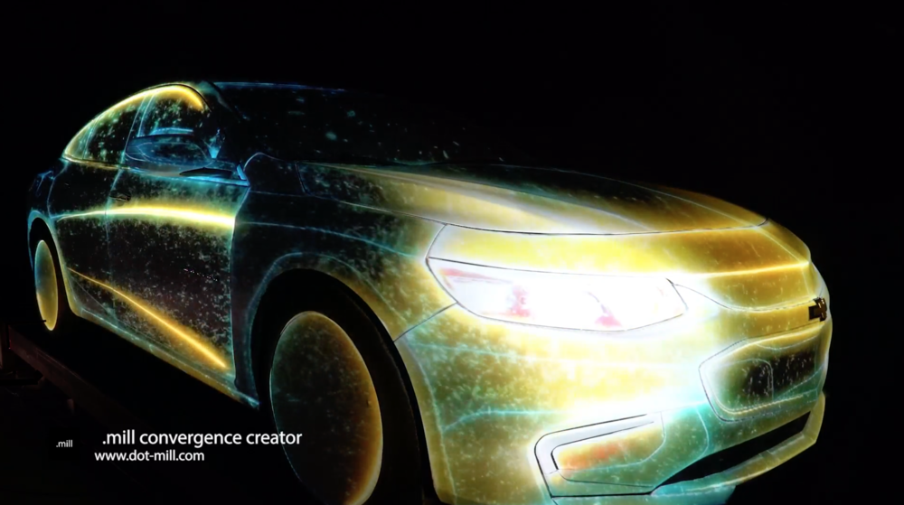 Chevolet - All New Malibu Launching Promotion - Projection Mapping