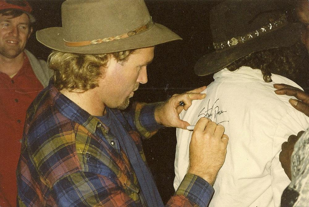 Steve Grace in Central Australia