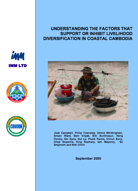 Understanding the factors that support or inhibit livelihood diversification in coastal cambodia (2005).png