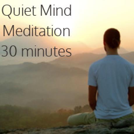 Quiet Mind Meditation 30 Minutes - $14.95
