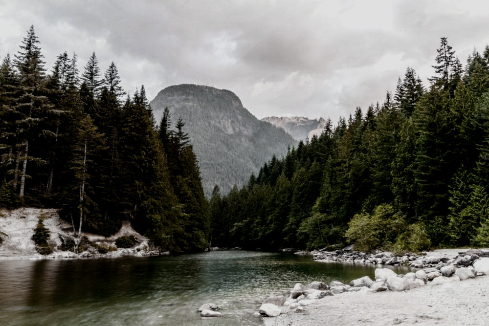 alouette lake, british columbia, canada -