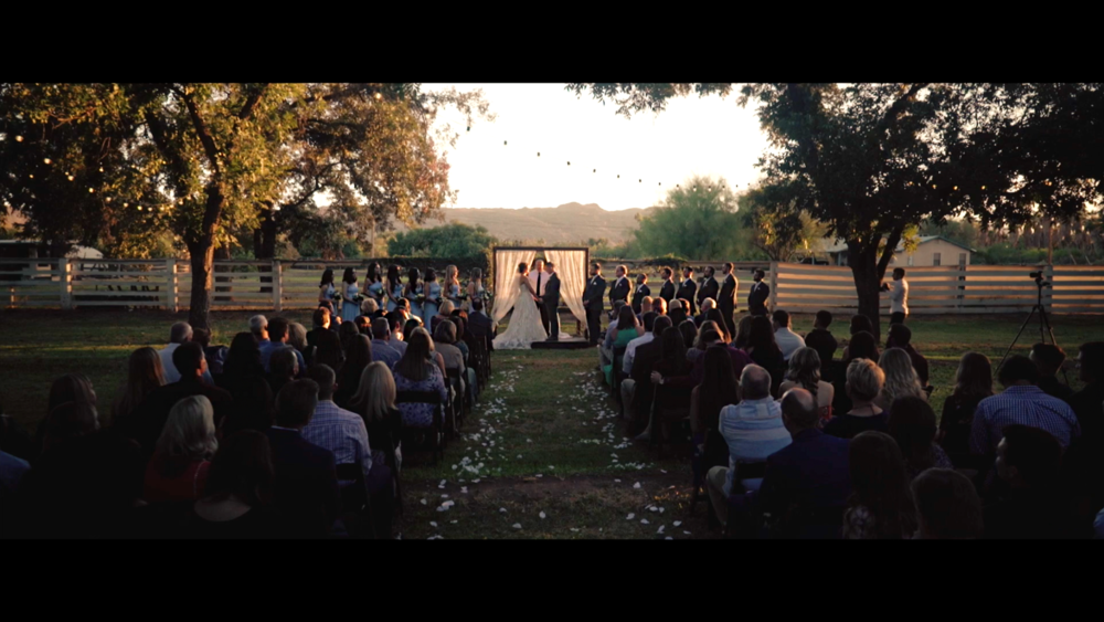 Danielle & Jordan - Beautiful wedding video at The Farm at South Mountain in Phoenix, Arizona