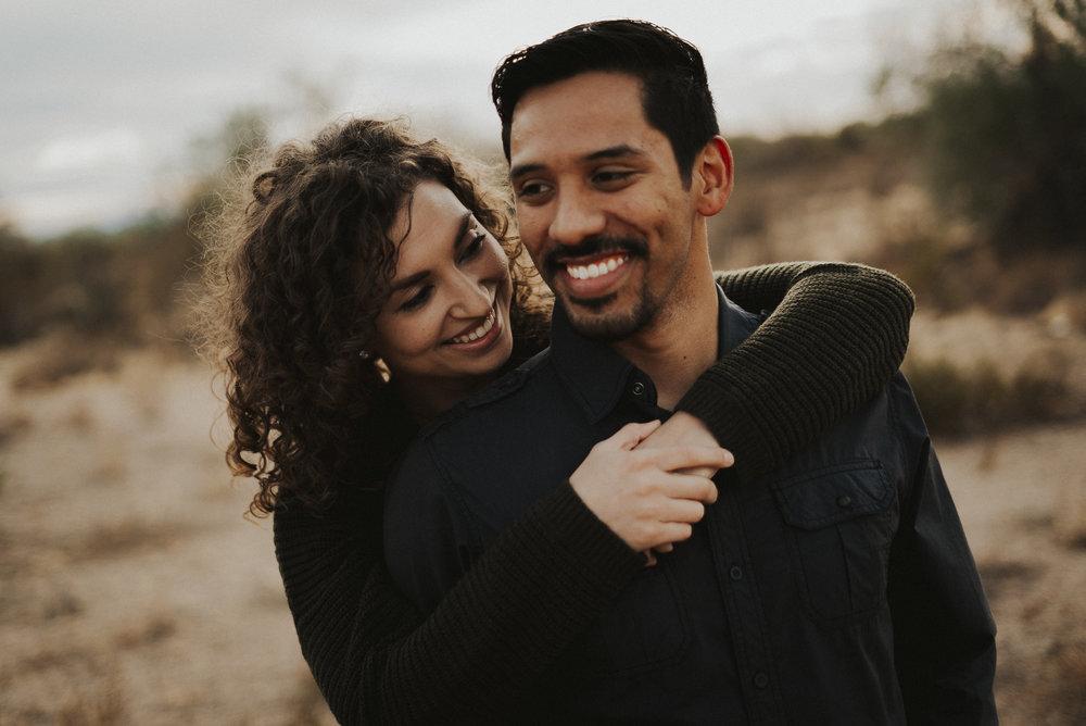 Cruz & kristina - An adventure session in the desert of North Scottsdale
