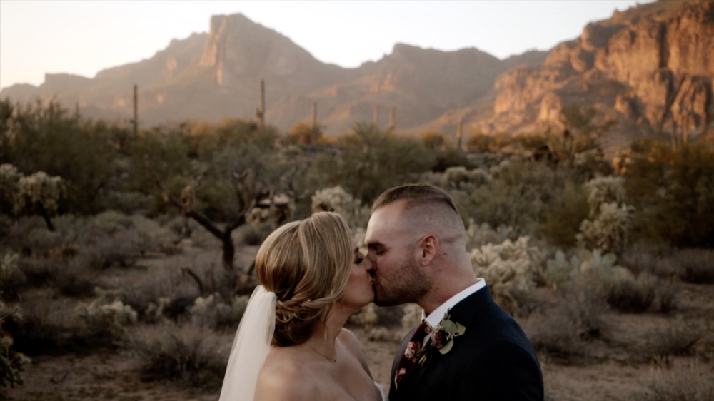 Kayli & Evan - Gorgeous Superstition Mountain wedding video with these two love birds