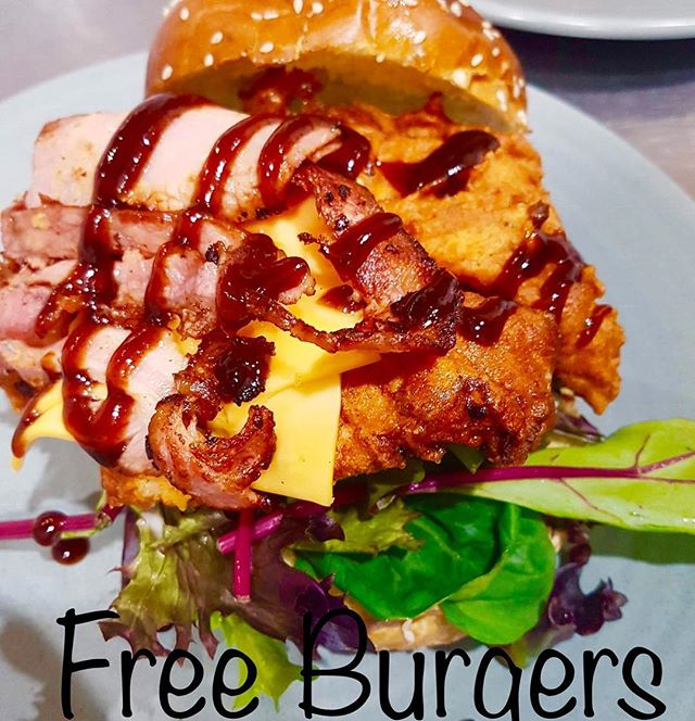 🍔 Its on again! #freeburgers We are giving away FOUR free burgers to our Friday night burger night 🙌🏻 😁Make sure you're following us, SHARE THIS POST and then tag three of your friends to enter!  Winner draw Thursday 👏🏻⠀ Don't forget we are BYO (no corkage) 🍷 See you Friday night! 6-9pm 🌟 .⠀ .⠀ .⠀ .⠀ .⠀ #burgernight #freeburgers #perthcafe #tagafriend #fridaydinner #burgernight #perth #dinnerissorted #cafe #gardencafe #bayswater #maylands #maylandslife #perthisok #perthfoodie #perthfoodies #pertheats #perthmusic #goodfood #perthfood #food  #urbanlistperth #perthtodo #westisbest #bayswaterlocal #dinner #tagafriend #fridaynight #friyay #burgers