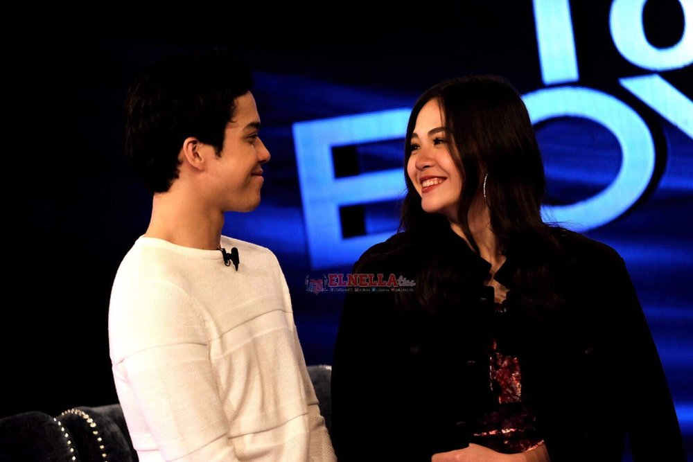 They just smiled at each other and let their eyes and hearts convey what they felt at the moment.