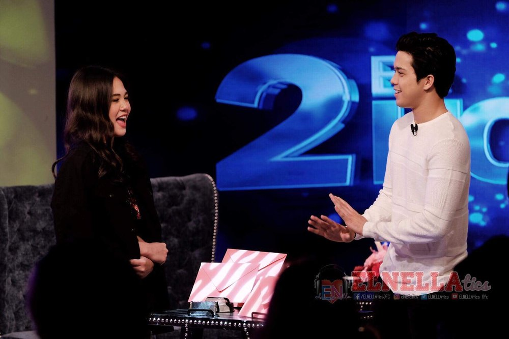 Janella answers, 'The mere fact that you're the only person or guy that I've ever had this bond with says a lot.'