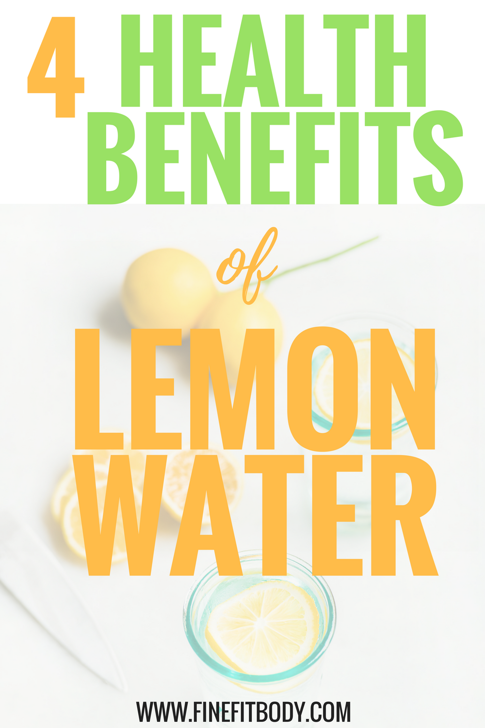 I didn't know that lemon water had so many health benefits, especially when you drink lemon water in the morning! Lemon water helps improve weight loss, I'm definitely starting to drink lemon water tomorrow!