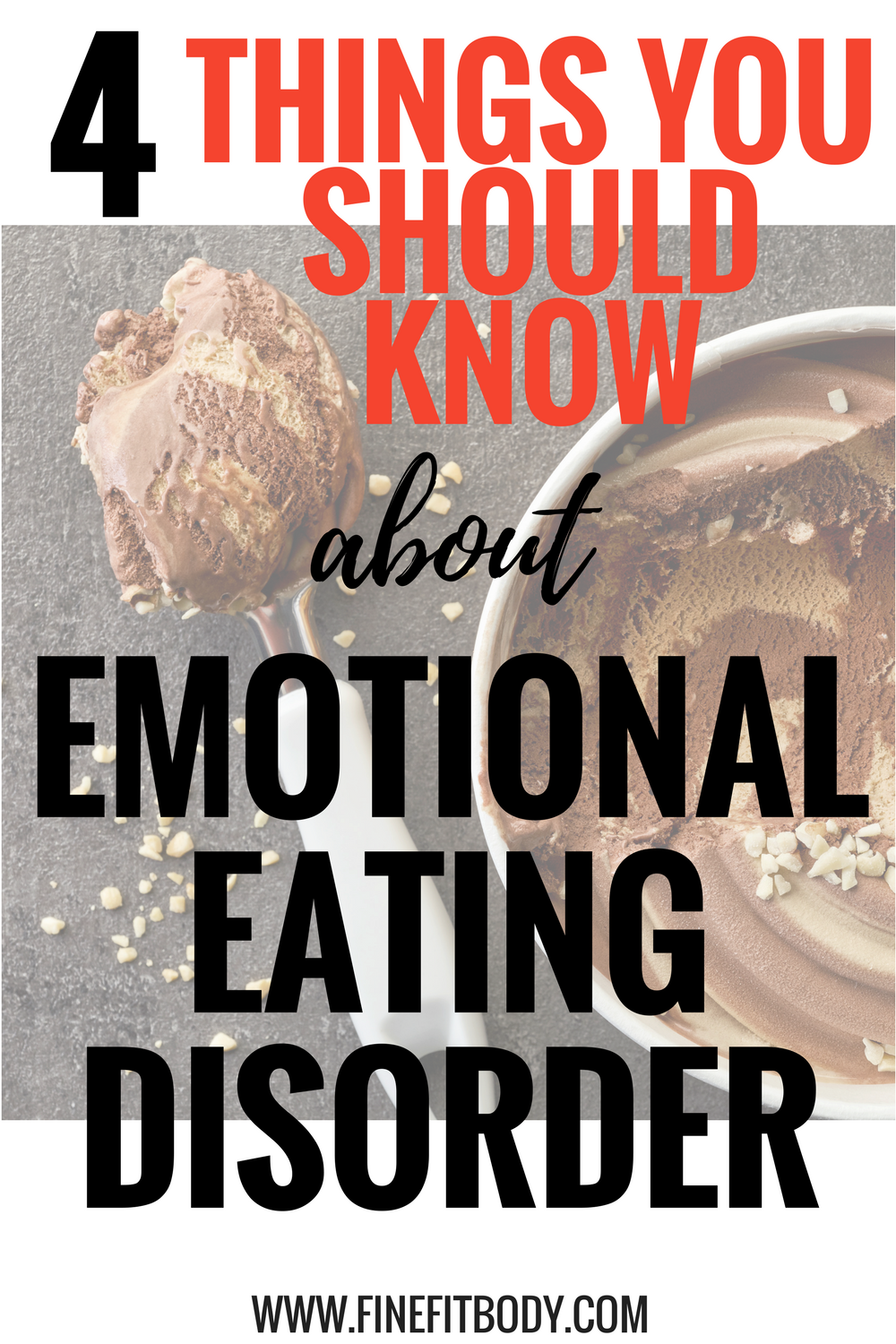 I didn't know all of this about emotional eating disorder! This is going to help me stop emotional eating. Pinning for later.